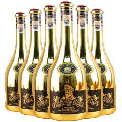 法国进口红酒14度百伦堡干红葡萄酒朗格多克产区750ml*6(红酒整箱)