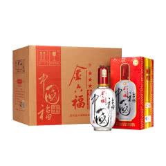 金六福 中国福三星50度500ml*6瓶整箱白酒