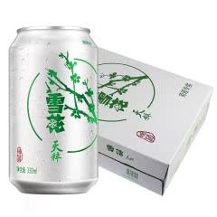 雪花啤酒(Snowbeer)9°雪花天粹330mL(24听装)
