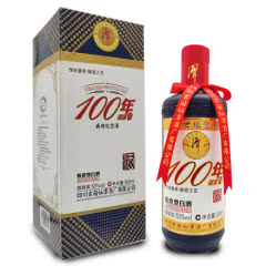 53°潭酒 100年硕果 送礼收藏礼盒酒酱香型白酒整箱500ml单瓶