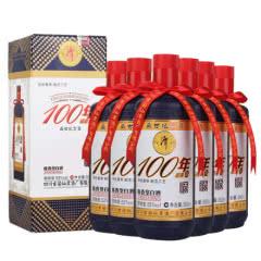 53°潭酒 100年硕果 送礼收藏礼盒酒酱香型白酒整箱500ml*6瓶