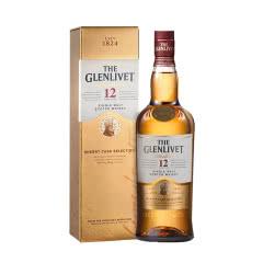 40°格兰威特12年醇萃单一麦芽威士忌700mL