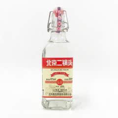 42°北京二锅头方瓶白瓶红标口粮酒清香型白酒500ml