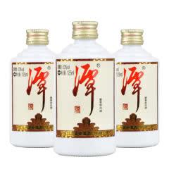 53°潭酒 小潭酒 酱香型白酒(品鉴酒)小酒版125ml*3(3瓶装)