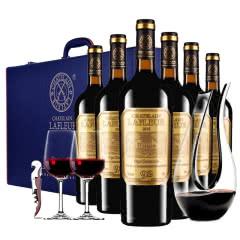 法国进口红酒拉斐教皇92干红葡萄酒红酒整箱红酒礼盒装送醒酒器750ml*6