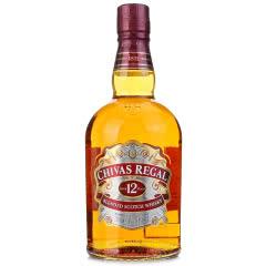 【洋酒特卖】40°芝华士12年苏格兰威士忌700ml