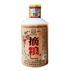 53°贵州金沙摘粮酱香白酒 摘粮粮食酒小酒版品鉴酒 酱香经典 纯粮固态发酵100ml