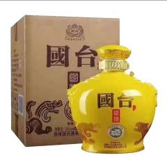 53°贵州国台酒业公司 国台国礼(2018年产) 酱香型白酒5L