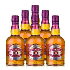 40°英国芝华士12年苏格兰威士忌500ml*6