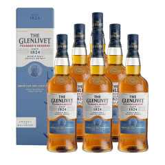 40°英国格兰威特单一麦芽苏格兰威士忌创始人甄选系列700ml*6