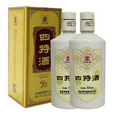 52°四特酒T5 特香型白酒 500ml(2瓶装)