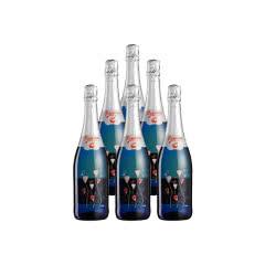 意大利激情飞扬桃味气泡葡萄酒750ml(6瓶装)