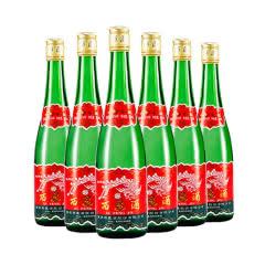 55°陕西 西凤酒绿瓶高脖 凤香型白酒整箱(裸瓶装)500ml*6