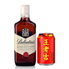 40°英国百龄坛特醇苏格兰威士忌500ml+定制款王老吉310ml