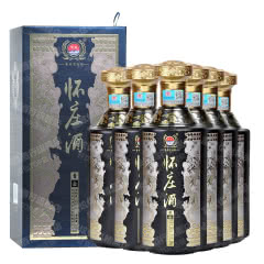 53°贵州茅台镇怀庄青云酱香型白酒送礼收藏自饮口粮酒500ml*6【整箱】