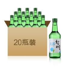 17.8°新真露竹炭烧酒360ml*20