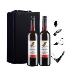 澳大利亚朗翡洛荆棘鸟红葡萄酒双支礼盒装