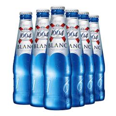 法国监制中国生产克伦堡凯旋1664白啤酒330ml*6