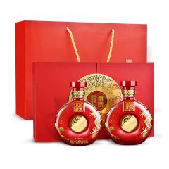 50°迎驾·赢家双雄500ml*2中国红双支礼盒