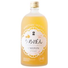 10°日本白岳柑橘梅酒720ml