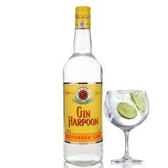 40°法国Harpoon Gin哈顿金酒1000ml