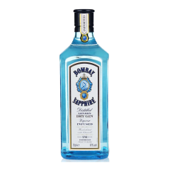 英国进口洋酒 47度孟买蓝宝石金酒松杜子酒干金酒毡酒750ml