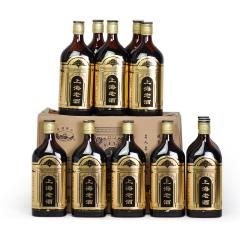黑标十年陈上海老酒12度500mlx12瓶装半干型海派黄酒感受老上海风情