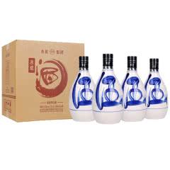 53°汾酒产地 杏花村青花原浆酒 整箱装礼盒白酒500ml*4瓶