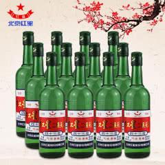 43°红星二锅头绿瓶(12瓶装)