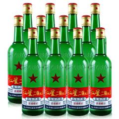 56°红星二锅头绿瓶500ml(12瓶装)