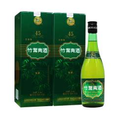 45°汾酒杏花村竹叶青牧童竹叶青475ml(2瓶装)