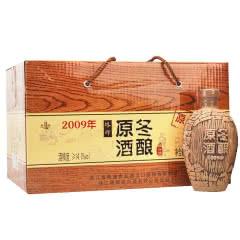 塔牌黄酒 原酒冬酿绍兴酒2009 500ml(6瓶装)