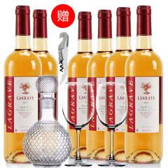 法国红酒整箱法国(原瓶进口)醇酿桃红葡萄酒750ml*6支装