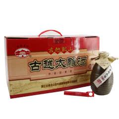 14°绍兴黄酒古越太雕酒370ml(8瓶装)