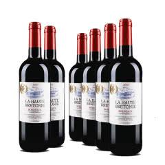 法国红酒法国原瓶进口波尔多AOC尚贝隆干红葡萄酒 750ml (6瓶装)