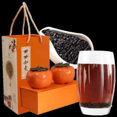 南国公主柿柿如意普洱茶碎银子茶化石熟茶古树老茶头茶叶2罐装160g