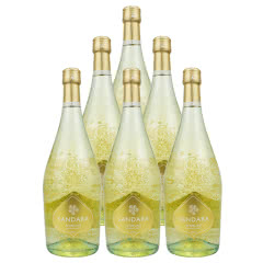 7.5°西班牙进口桑德拉白起泡葡萄酒 750ml(6瓶装)