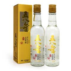 58°台湾玉山高粱酒 五八金清香型纯粮食高度白酒300ml(2瓶装)