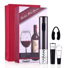 电动开瓶器   葡萄酒创意全自动开酒神器四件套礼盒装
