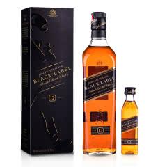 40°英国尊尼获加黑方威士忌700ml+ 40°英国尊尼获加黑方威士忌50ml