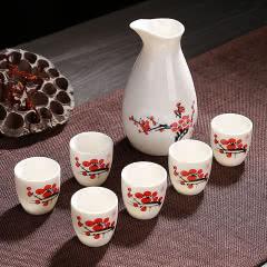 陶瓷酒具 分酒器 小酒盅 7件套装
