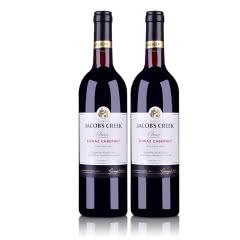 澳大利亚杰卡斯经典系列西拉·加本纳干红葡萄酒750ml(双瓶装)