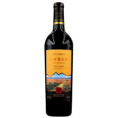 长城大漠风情赤霞珠干红葡萄酒13度750ml 单支装