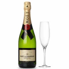 法国原瓶进口葡萄酒  酩悦香槟 单支 750ml
