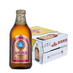 青岛啤酒11度296ml*24瓶棕金整箱装