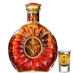 【第二瓶半价】40°法拉玛依XO经典白兰地烈酒洋酒500ml单瓶