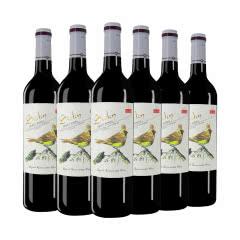 甜型红酒 思琪酒庄甜红葡萄酒750ml*6瓶