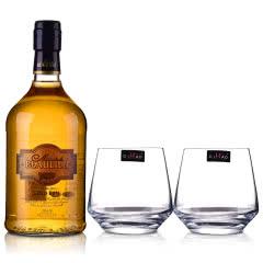 【包邮】37.5°法国(原瓶进口)法圣古堡公爵金朗姆酒700ml+洋酒杯*2