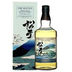 日本原装进口洋酒 THE MATSUI 松井单一麦芽橡木木桶味威士忌700ml