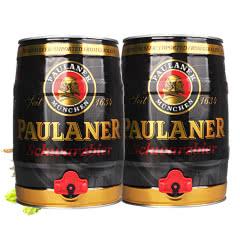 德国进口啤酒柏龙保拉纳黑啤酒5L桶装(2桶装)